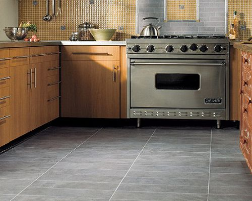 Floor tiles for kitchen