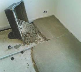 Выравнивающая стяжка цементным раствором бетон отмостка состав