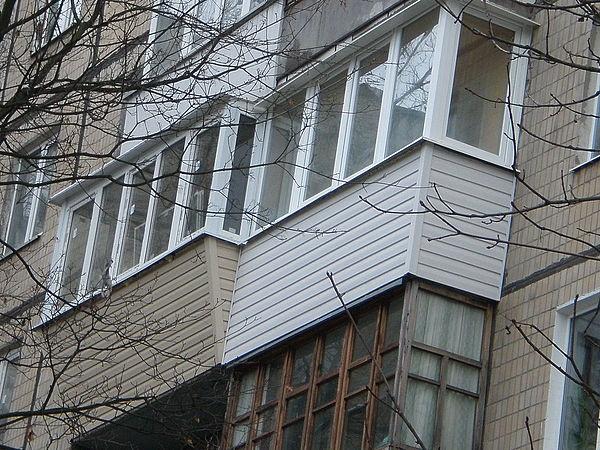 Отличие балкона от лоджии.