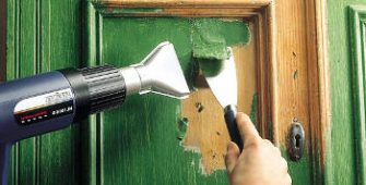 Как удалить старую масляную краску