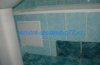 Рассчёт плитки на экран под ванной