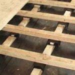 Укладка лаг в деревянном доме