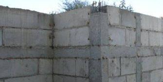 армирование подпорных стен