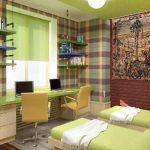 Детская комната для двух подростков