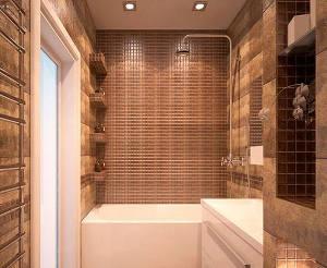 ниша в стене в ванной