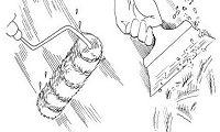 Основные инструменты для смывки побелки