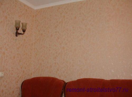 Как рассчитать площадь стен в комнате для обоев