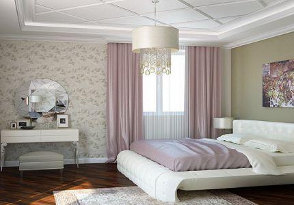 Подбор цвета обоев для спальни