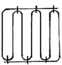 Сетка зигзаг для армирования кипричных стен