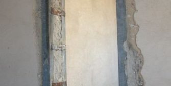 Усиление проема в кирпичной стене