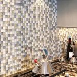 Стеклянная мозаика для кухни на фартук