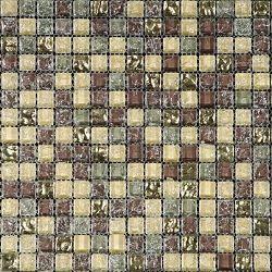 Внешний вид стеклянной мозаики