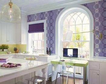 Шелклграфия гармонично вписывается в интерьер кухни