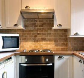 плитка под кирпич для фартука кухни