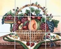 Изображение фруктов на виниловой наклейке