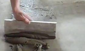 Заделка трещин в стяжке пола