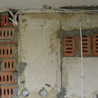 Новая электрическая разводка на кухне