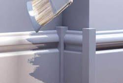 Как покрасить напольный плинтус