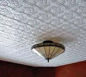Как наклеить потолочную плитку по диагонали